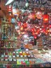Shopping at the bazaar - tea, spices, sweets, shishas, Aladin lamps