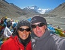At the Mt. Everest base camp