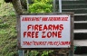 At least a few firearm free zones ;-)